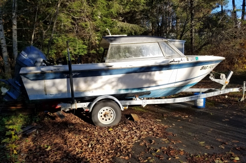 1980 Sportsman sport fishing boat